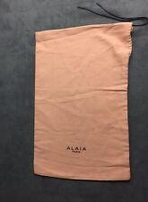 New Alaia Paris cotton Dust Bag for Shoes Heels Pumps Flats