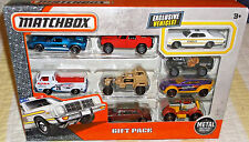 2017 MATCHBOX 9pc Gift Playset 4+ Diecast with Exclusive '78 Dodge Monaco State