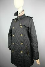 Burberry London made in England double-breasted quilted jacket  Size M