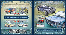BMW Cars Automobile Motorcycles Transport Niger MNH stamp set 2 sheets