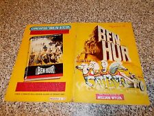 ALBUM BEN HUR ED.LAMPO 1960 Q.COMPLETO (-2 FIGURINE) MB/OTT NO PANINI EDIS MIRA
