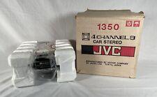 Jvc 1350 4-Channel Quadraphonic 8-Track Car Player - Nos Open Box - 1967 Japan