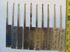 Aircraft Tools 10 hi lok / hi lite grip gauges