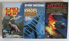 1987/94 Ace Sci Fi Lot of 3 paperbacks VF/FN+ Wynne Whiteford Mace Sawyer