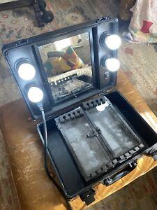 Kemier Makeup Case,Professional Artist Studio Cosmetics USED WORKING