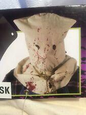 Horror Hood Cloth Mask Costume Accessory