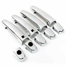 Accessories Chrome Smart Door Handle Covers Trims For 2007-2011 Toyota Yaris