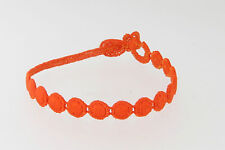 Genuine Italian Made Cruciani Bracelet!!!-MARS- Orange