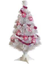60cm (2ft) Hello Kitty Pre-Lit Decorated Fibre Optic Christmas Tree