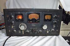 VINTAGE HALLICRAFTERS SUPER SKY RIDER SX 28 TUBE HAM RADIO RECEIVER SHORTWAVE