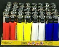 4 X CLIPPER LIGHTERS ORIGINAL CLASSIC REFILLABLE CLIPPERS