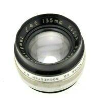 Rare Kodak Projection Anastigmat f4.5 135mm Projection Lens