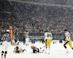 NFL Franco Harris Pittsburgh Steelers Touchdown vs Bengels Color 8 X 10 Photo