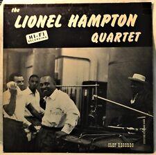 The Lionel Hampton Quartet LP NM Vinyl Clef Deep Groove 1st Jazz Vibes Oscar P