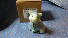 "Fenton C3648 Piglet HP J. Powell  Sea Green Sating  3 7/8"" High  Box"