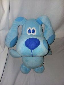 Fisher Price Talking Blues Clues Plush Stuffed Toy Blue Puppy Dog 2011 Mattel
