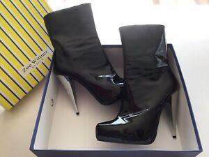 Wittner Stiletto Patent Leather Heels
