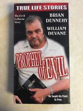 True Life Stories PROPHET OF EVIL 1993 True Life Cult Leader VHS 2001 TESTED