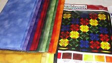 MARBLEOUS Quilt Kit By Margrit Hall Robert Kaufman Fabrics 48x48""