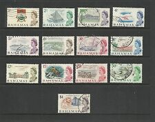 1966 Q E II SG295 - SG307 Inc. Set of 9 Decimals to 1$  Fine Used BAHAMAS
