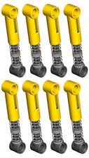 8 Lego Shock Absorbers HARD spring  (technic,car,truck,suspention,nxt,ev3,robot)