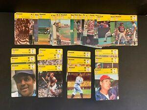 1977-79 Huge Large Collection Lot 70+ Sportscaster MLB Baseball Cards