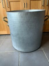 More details for giant vintage handmade school curry stockpot camping catering pot pan 17kg