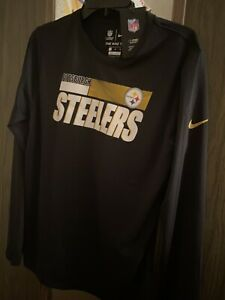 Pittsburgh Steelers The Nike Tee Shirt Dri Fit Size XL NWT