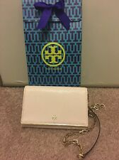 TORY BURCH ROBINSON PATENT CHAIN WALLET LOLITA PINK STYLE 11159237 With GIFT BAG