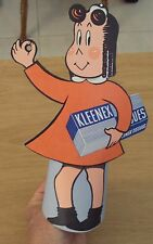 "VTG 1950 Little Lulu ""KLEENEX"" Standup/Topper~Store COUNTER Advertisement~"