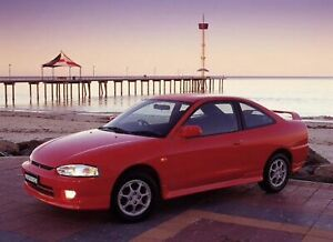 Mitsubishi 1998 1999 Lancer CE MR Front Spoiler & Driving Lights