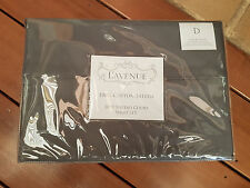 L'Avenue Grey 100% Cotton Sateen 1000 Thread Count Sheet Set - Double Bed
