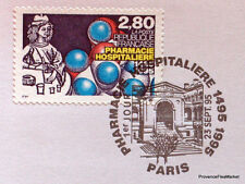 PHARMACIE HOSPITALIERE  FRANCE Yt 2968 OBLITERATION 1er JOUR NOTICE PHILATELIQUE