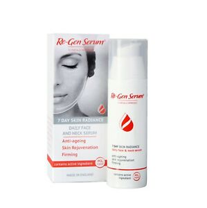 Re-Gen Daily Face & Neck Anti-Ageing & Anti-Wrinkle Firming Serum - 50ml