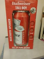 Budweiser Bluetooth Can Speaker - Wireless Audio Sound Stereo Beer Can NEW