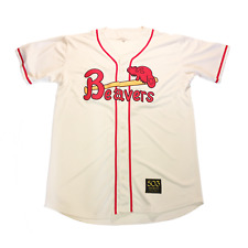 1956 Portland Beavers Customized Baseball Jersey