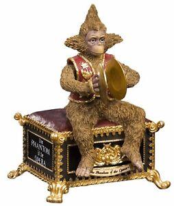 NEW! Phantom of the Opera Monkey Figurine San Francisco Music Box