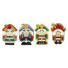 4pcs DIY Soldier Full Drill Special Shaped Diamond Painting Girls Bag Keychains