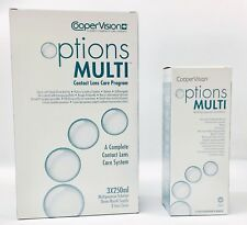 Cooper Vision Options Multi Contact lens solution 3x250ml  + Free 100ml
