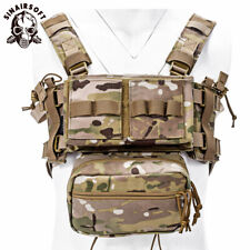 Tactical Chest Rig MK3 Micro Fight Chassis Modular Carrier w/ Mag Pouch Hunting
