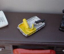 Paint Tray w Roller Miniature 1/24 Scale G Scale Diorama Accessory