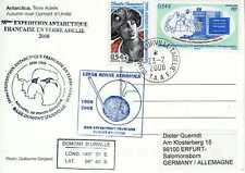 FSAT - TAAF Terre Australe et Antarctique Française Carte Lidar Ozone Aerosols
