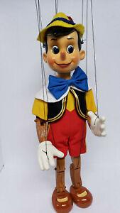 Rare Vintage Disney's Pinocchio Marionette Puppet by Bob Baker Ltd Edition