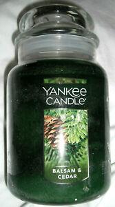 Yankee Candle Balsam & Cedar 22 Oz