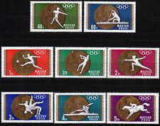 Ungarn 2477-84 **, Medaillengewinner Olympiade 1968