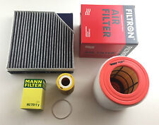 Ölfilter Luftfilter Aktivkohlefilter Audi A6 4G2 4GH 4G5 C7 3.0 TFSI 245KW 333PS