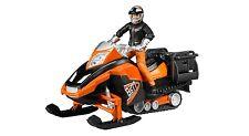 Bruder Snowmobil mit Fahrer und Ausstattung 63101