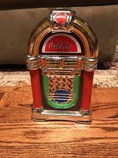 2002 Coca Cola Cookie Jar Jukebox