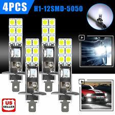 4x H1 110w Cree Led Headlight Bulbs Lamp Kit Fog Driving Light 6000k Super White