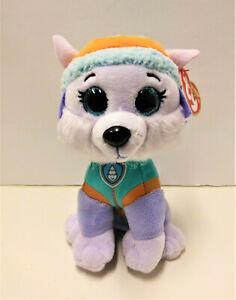 "Ty Paw Patrol Marshall Dog Plush 7"" 2017 Stuffed Animal"